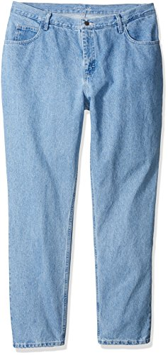 Riders by Lee Indigo Women's Tall Plus Size Relaxed Fit 5 Pocket Jean, Classic Blue, 18L