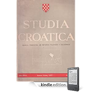 Studia Croatica - números 64-65 - 1977 (Spanish Edition) (Kindle Edition)