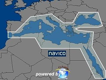 Mar Mediterraneo, Mar Nero y Mar Rosso --- Lowrance Map: Amazon.es: Electrónica