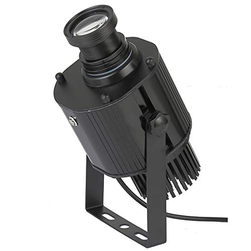 ZKKAW Projection lamp, Outdoor Advertising Light, 45W Light Source 3600lm50W Power 6000k Color Temperature Projectable 15m in Darker environments ()