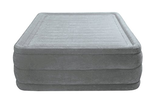 Intex Dura-Beam Comfort Plush 22' High Air Bed Queen Size with built-in...