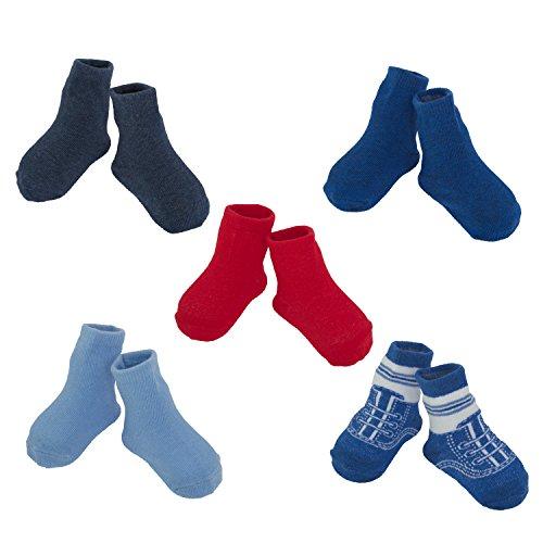 Little-Me-Infant-Boys-Girls-20-Pack-Anklet-Socks-Box-Set-Assorted-0-12-Months-12-24-Months
