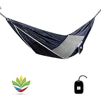 Amazon Com Hammock Bliss Sky Bed Hangs Like A Hammock