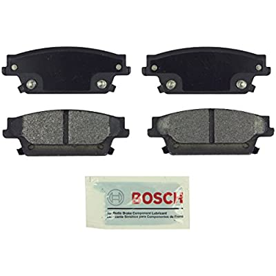 Bosch BE1020 Blue Disc Brake Pad Set for Cadillac: 2006-07 CTS, 2004-09 SRX, 2005-11 STS - REAR: Automotive