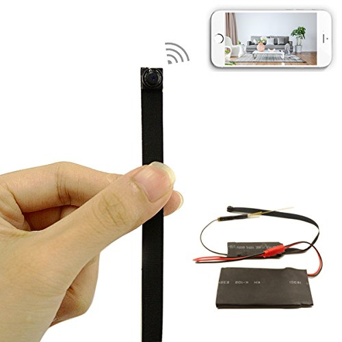 Hidden Spy Camera,Camakt HD 1080P WiFi Mini DIY Module Camera Wireless Surveillance Security Nanny Camera, Motion Detection Real-Time View for iPhone/Android Phone/iPad/PC For Sale