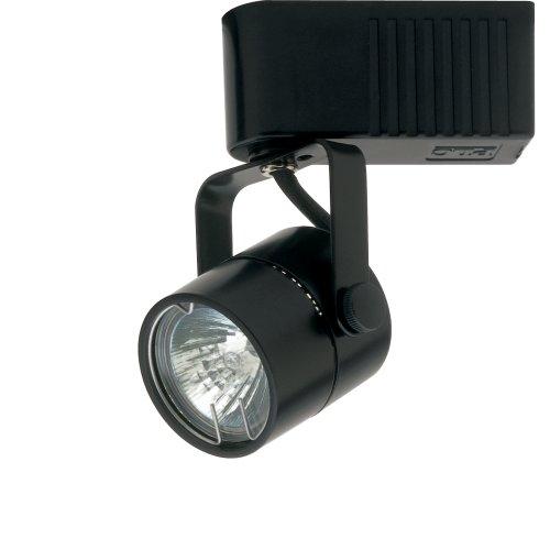 PLC Lighting TR28 BK Track Lighting 1 Light Slick 12-Volt Collection, Black Finish