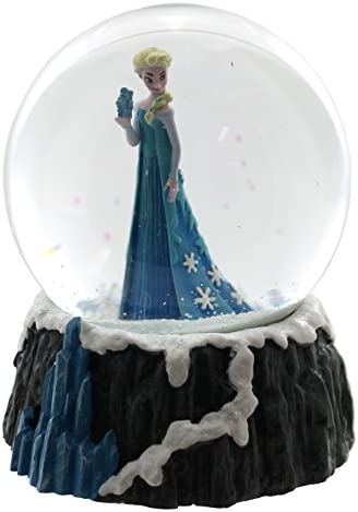 Department 56 Disney Classic Brands Frozen Elsa Globe Waterball Snowglobe, 5