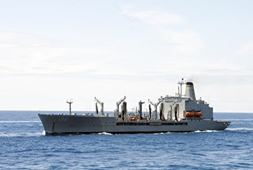 The Military Sealift Command fleet replenishment oiler USNS Big Horn (T-AO 198) is underway with - 198 Ca