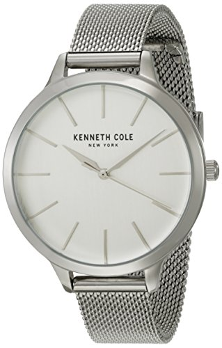 Kenneth Cole New York Women's 'Classic' Quartz Stainless Steel Dress Watch, Color:Silver-Toned (Model: KC15056009)