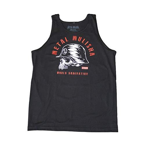 Metal Mulisha Men's Inked Tank Top Sleeveless Shirt Black 3XL