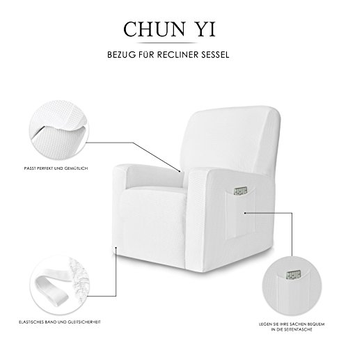 Outstanding Deals On Chun Yi 1 Piece Stretch Spandex Jacquard Recliner Ibusinesslaw Wood Chair Design Ideas Ibusinesslaworg