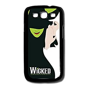 Funny Samsung Galaxy S3/I9300 Cases Wicked Witch Design Black