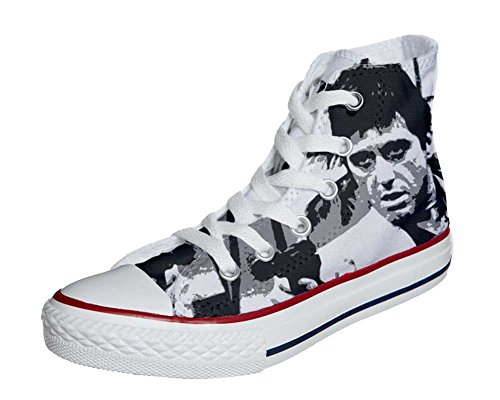 Converse All Star chaussures coutume mixte adulte (produit artisanal) Al Pacino