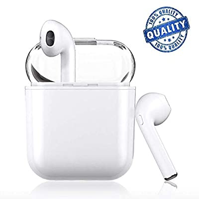 Bluetooth Headphones,Wireless Bluetooth Earphones Stereo in-Ear Sports Headset Built-in Noise Reduction HD Microphone,Bluetooth Earbuds for All Sports and Work