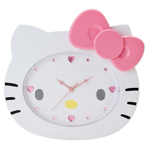 Hello Kitty Die-cut wall clock