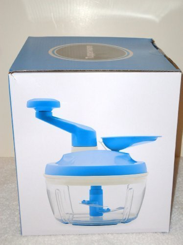 Tupperware PRO Quick Blue Chef Food Chopper Onions Veges NEW
