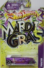 Mattel Hot Wheels MARDI GRAS 2012 SERIES Purple PHAETON (Mardi Gras Series)