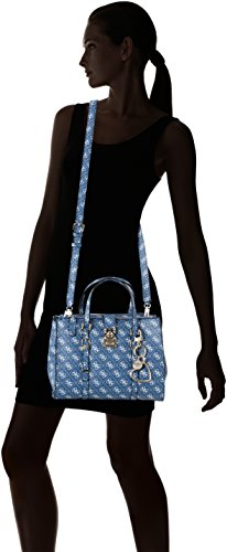 17x21x28 Guess Bags Damen Blau Blue centimeters Shopper Hobo rOOaxPdYq