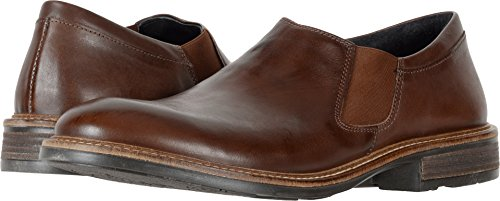 NAOT Mens Director Flat Toffee Brown Leather 87YPrZL
