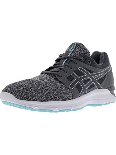 ASICS Women's Torrance Running Shoe (10 M US, Carbon/Carbon/Aruba Blue) (Best Asics Shoes For Gym)