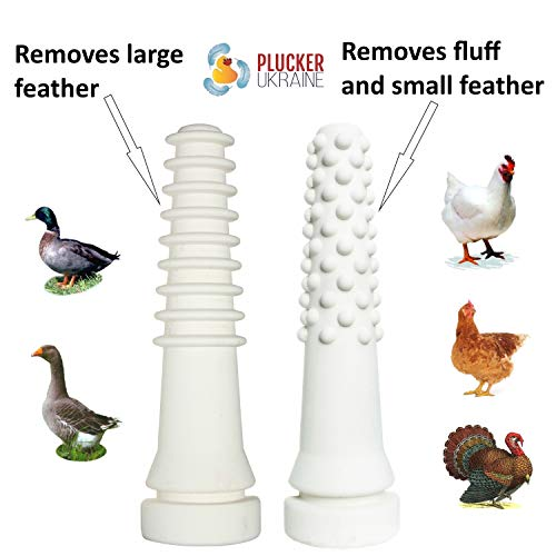 Chicken Plucker Drill Attachment – Poultry Feather Remover
