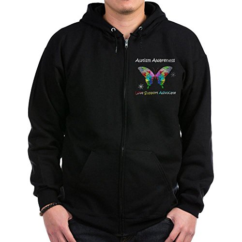 CafePress Awareness Butterfly Classic Sweatshirt