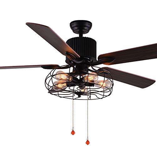 Retro Vintage Ceiling Fan Light: Amazon.com