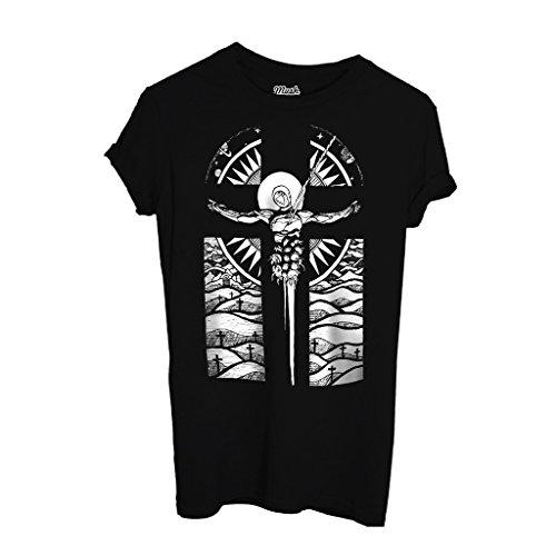 T-Shirt Neon Genesisevangelion Lillith Croce - CARTOON by Mush Dress Your Style