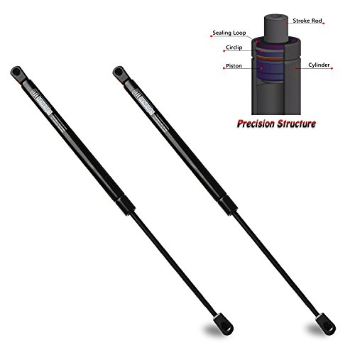 Beneges 2PCs Front Hood Supports for 2007-2010 Toyota FJ Cruiser Gas Spring Charged Lift Struts Bonnet Dampers Shocks 6355,GS520075