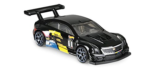 Hot Wheels 2018 50th Anniversary Legends of Speed '16 Cadillac ATS-V R 70/365, Black