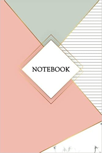 notebook marble gold journal 120 page blank page notebook 6 x