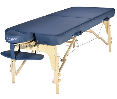 Master-Massage-30-Phoenix-Therma-Top-Portable-massage-Table-with-MEMORY-FOAM-PackageRoyal-Blue