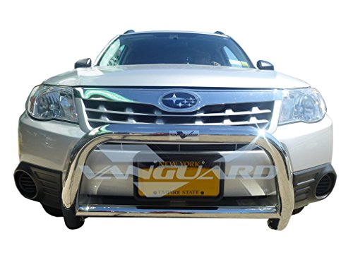 VANGUARD Off Road VGUBG-0920SS For Subaru Forester 2007-2013 Bumper Guard Stainless Steel Sport Bar