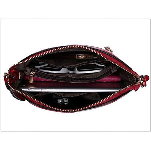 Bandoulière Mode Purple LQQAZY Cuir Américain à à Européen Bag En En Et Main Sac Cuir Messenger Sacs épaule wwqnvET4
