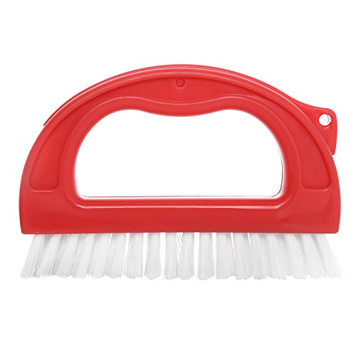 Hiware Grout Cleaner Brush - Tile Joint Cleaning Scrubber Brush with Nylon Bristles - Great Use for Bathroom, Shower, Floors, Kitchen and Other Household (Best Grout Cleaner For Shower)