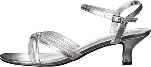 Picture of Touch Ups Women's Melanie Dress Sandal, Silver, 6.5 M US
