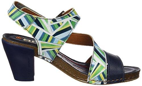 ART 0211 Fantasy I Feel, Sandalias con Tira de Tobillo para Mujer Varios colores (Stripes)