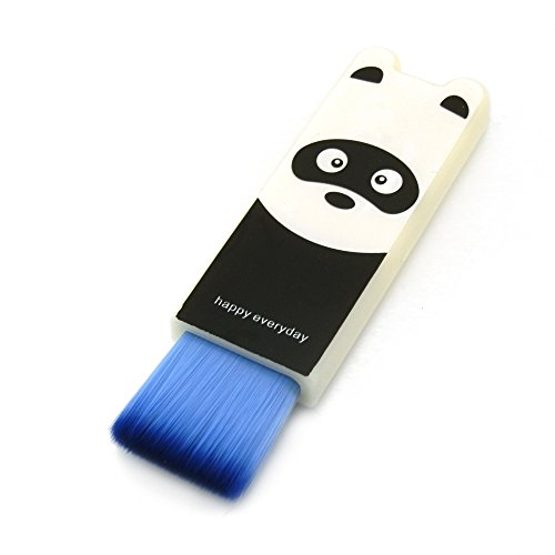 Ornerx Retractable Keyboard Brush Bear Pattern -