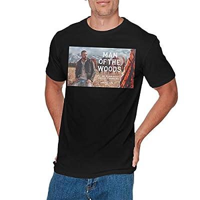 GEORGE MANNING Mens Vintage Justin Timberlake T-Shirt Black