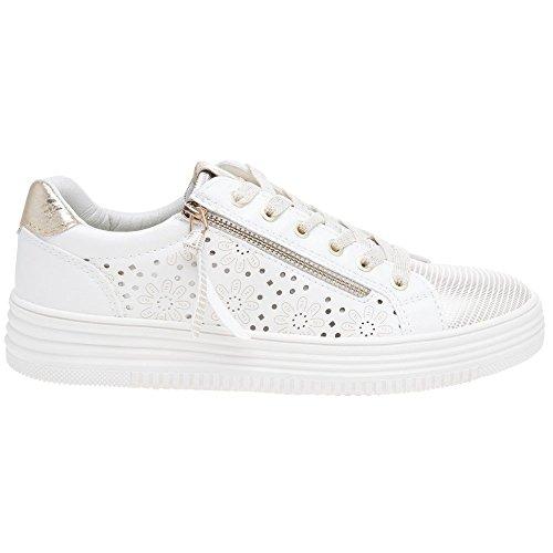 Basses Blanc Cassé white Femme Xti Sneakers 48030 EqwxPIHU