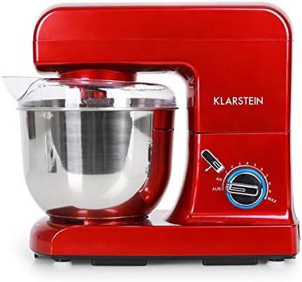 Klarstein Gracia Rossa - Robot amasador, Ayudante de cocina, Amasa ...