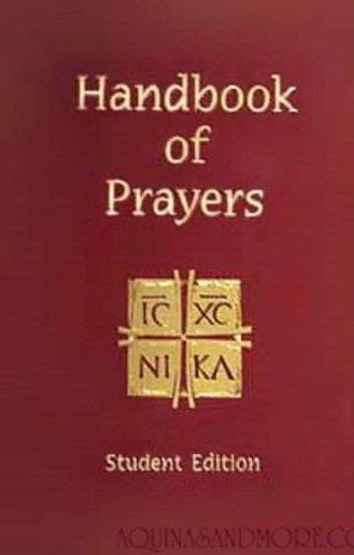 Handbook of Prayers, Student Edition