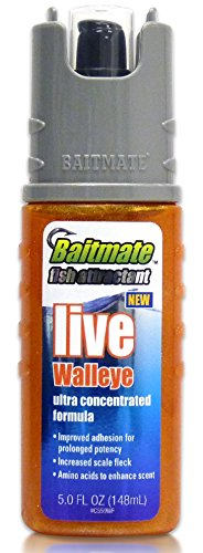 Baitmate Live Walleye Scented Fish Attractant, 5 Fluid-Ounce Bang Fish