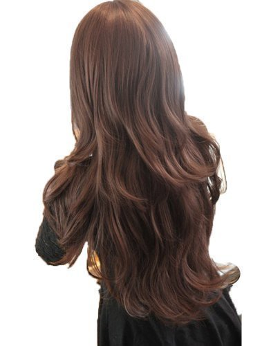 Buy PARAMTM Women s Cosplay Curly Wigs With Bangs Long Curly Hair Fluffy  Curly Hair black Online at Low Prices in India - Amazon.in 3d9a1a07b