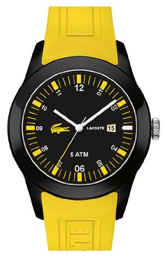 Lacoste Advantage (Lacoste Advantage Silicone - Yellow Men's watch #2010673)