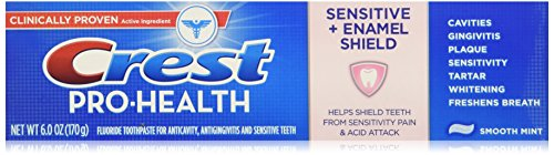 Crest Pro-Health Enamel Shield Toothpaste-Smooth Mint-6 oz