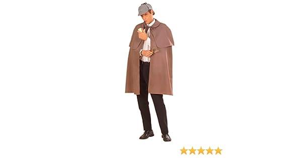 NET TOYS Capa de Sherlock Holmes Abrigo Detective investigador ...