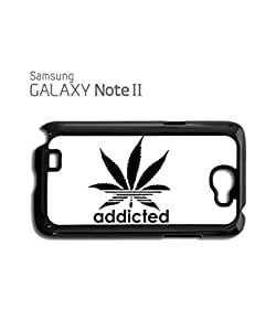 Addicted Cannabis Mobile Cell Phone Case Samsung Galaxy S5 White