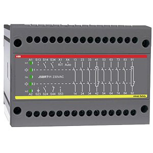 ABB 2TLA010025R0000 Safety Relay, 24 VDC, AgSnO2 with Au Flash, 2 NC by ABB Group