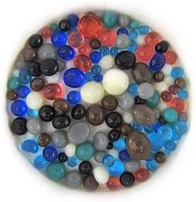 Seashore Frit Balls ASRT-FB-SSH COE 90 Glacial Art Glass